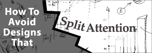 how to avoid split attention
